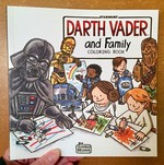 Star Wars: Darth Vader and Family Coloring Book