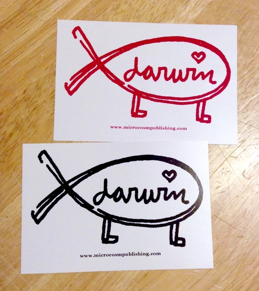 Sticker #279: Darwin blowup