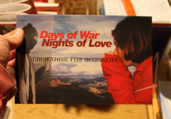 Days of War Nights of Love by Crimethinc