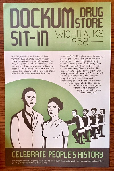 Dockum Drug Store Sit-In poster