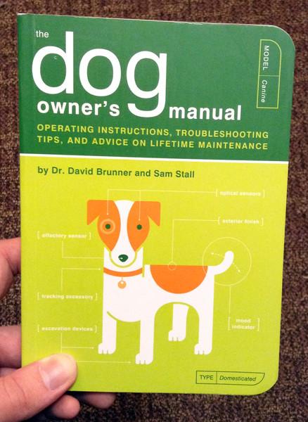 Dog Owner's Manual by David Brunner Sam Stall and Jude Buffum