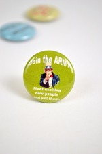 Pin #042: Join The Army
