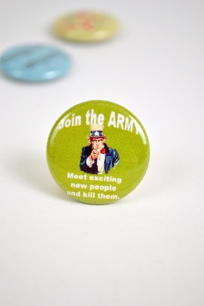Join the Army Button