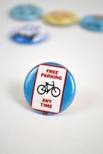 Pin #173: Free Parking