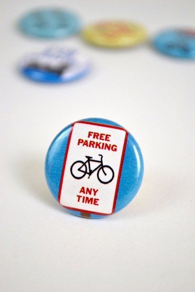 Buttons Bikes have Free Parking any time