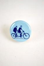 Pin #185: Tandem Riders