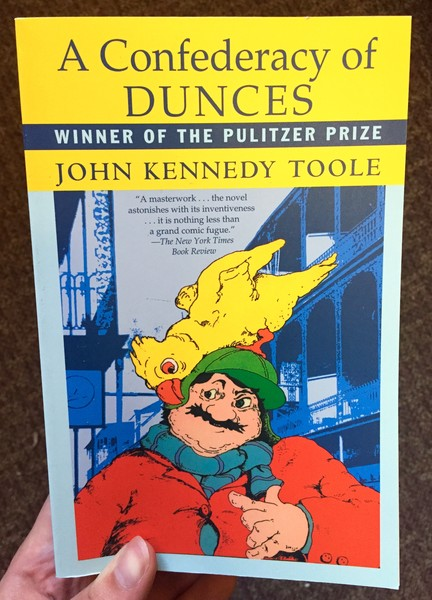 A Confederacy of Dunces by John Kennedy Toole [Ignatius J. Reilly strides through New Orleans]