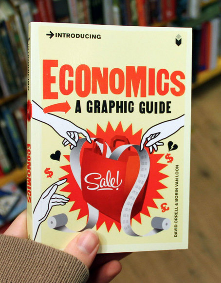 Introducing Economics: A graphic guide book cover