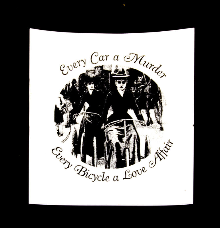 Every Car a Murder, Every Bicycle a Love Affair (women)