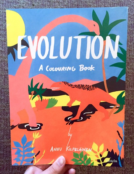 Evolution: A Colouring Book by Annu Kilpelainen