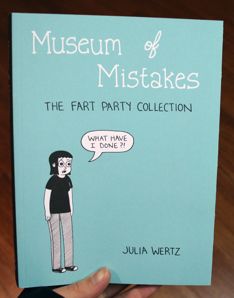 museum of mistakes fart party collection by julia wertz