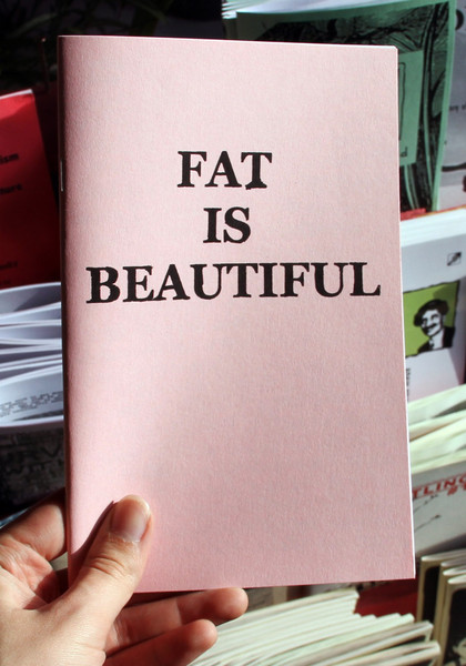 Fat is Beautiful zine cover