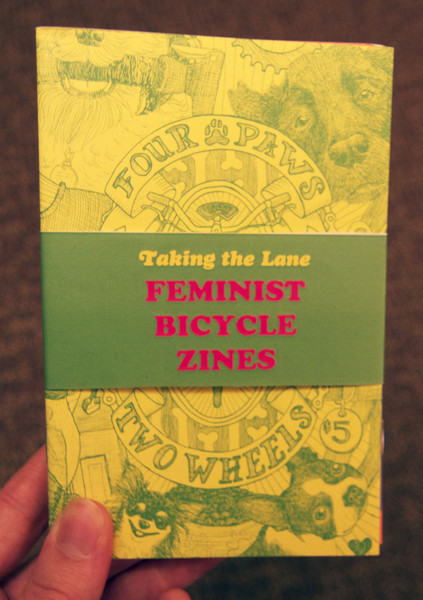 Taking the lane Feminist Bicycle zines pack by elly blue