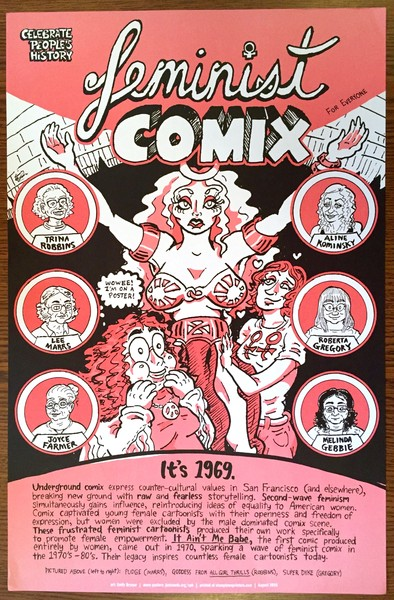 Feminist Comix poster