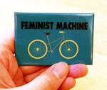 Feminist Machine magnet