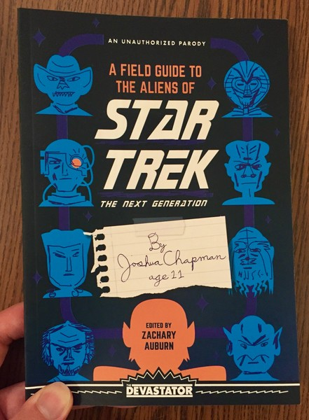 A Field Guide to the Aliens of Star Trek: The Next Generation by Joshua Chapman