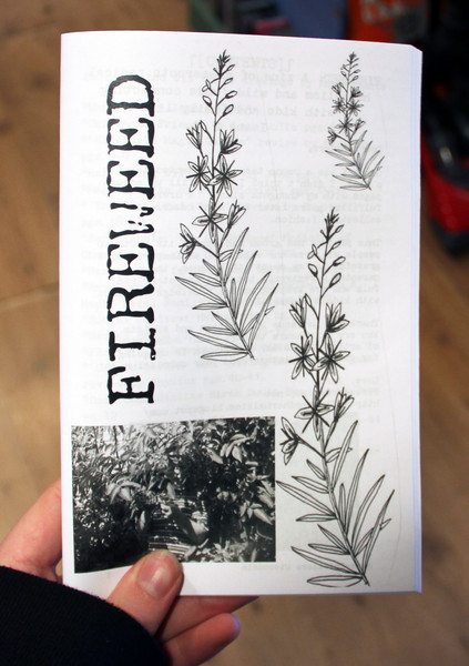 Fireweed 2 zine cover