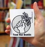 Sticker #181: Food Not Bombs