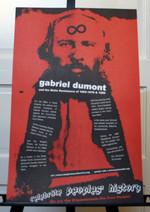 Gabriel Dumont poster