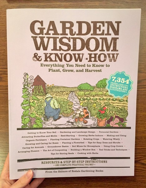 Garden Wisdom and Know-How: Everything You Need to Know to Plant, Grow, and Harvest []A farmer harvests their vegetables]