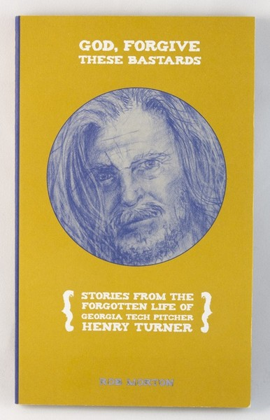 A yellow book with an illustration of Henry Turner