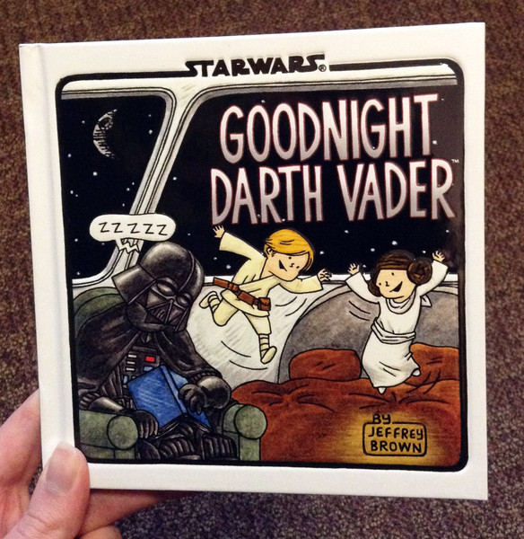 Goodnight Darth Vader by Jeffrey Brown blowup