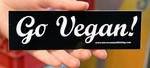 Sticker #238: Go Vegan