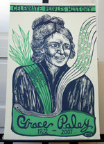 Grace Paley poster