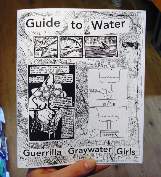 Guerrilla Graywater Girls Guide to Water zine cover