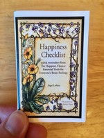 One Minute Happiness: Mental Health Checklist