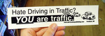 Sticker #052: Hate Driving in Traffic?