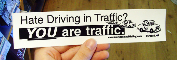 Sticker 052 Hate Driving in Traffic you are