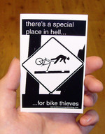 Sticker #187: There's a Special Place In Hell