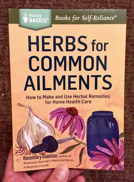 Herbs for Common Ailments by Rosemary Gladstar [Garlic and flowers make a nice tincture]
