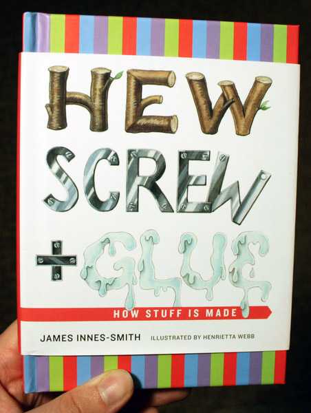 hew screw and glue by james innes-smith