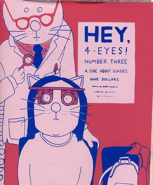 Hey, 4-Eyes #3: A Zine About Glasses