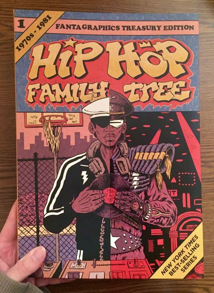 Cover of Hip Hop Family Tree Book 1: 1970-1981: Vol. 1: Hip Hop Family Tree