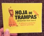 Hoja de Trampas: Biff Boff Bam Sock: Issue 6: Spanish Grammar