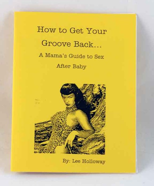 Lee Holloway's How to Get Your Groove Back zine cover