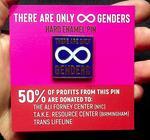 Infinite Genders Enamel Pin