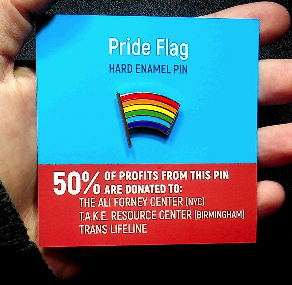 Pride Flag Enamel Pin