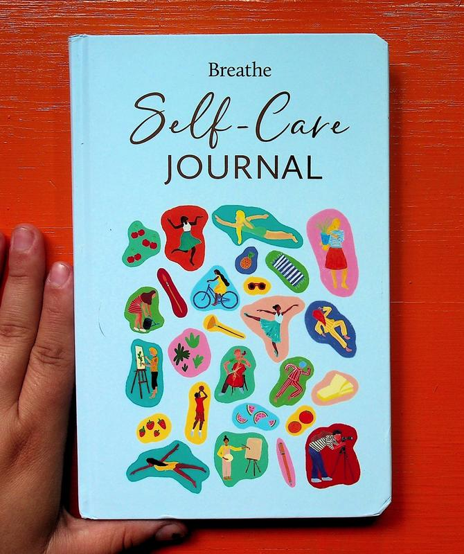 Breathe Self-Care Journal blowup