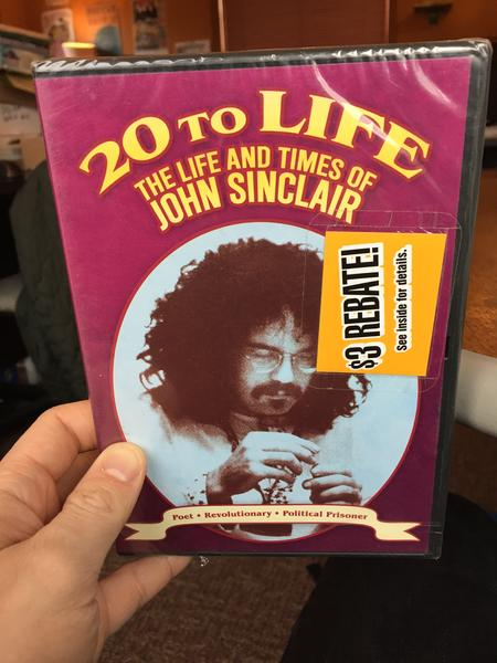 20 to Life: The Life and Times of John Sinclair - Poet - Revolutionary - Political Prisoner (Directed by Steve Gebhardt, Produced by Steve Gebhardt and John Sinclair)