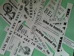 13 Miscellaneous Bicycle Stickers