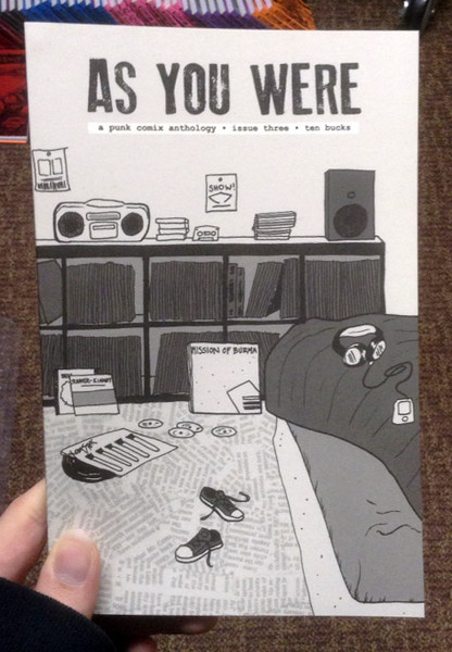 As You Were 3 zine cover