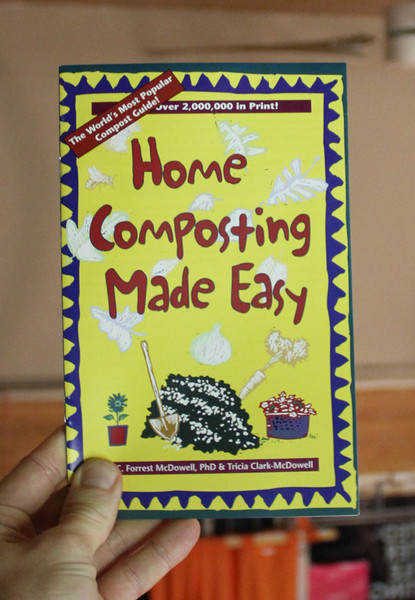 Home Composting Made Easy zine cover
