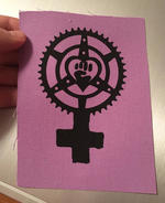 Patch #238: Feminist Chainring Fist