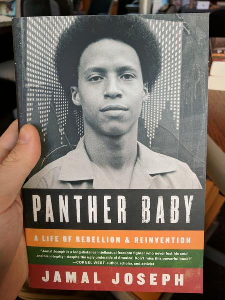 Panther Baby: A Life of Rebellion & Reinvention by Jamal Joseph (a photo of Jamal Joseph as a young man)