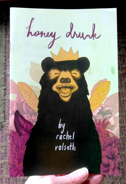 Cover of Honey Drunk, which features a grinning bear