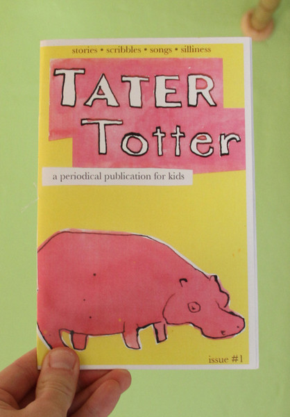 Tater Totter #1 zine cover blowup